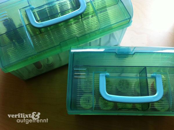 Garn-Aufbewahrungsboxen