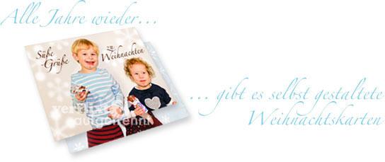 Personalisierte Weihnachtskarten verflixt-und-aufgetrennt