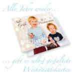Personalisierte Weihnachtskarten Vorschau