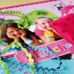 Mädchenglück Bastelbuch Vorschau