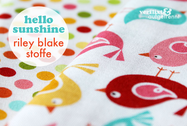 Riley Blake Stoffe Hello Sunshine
