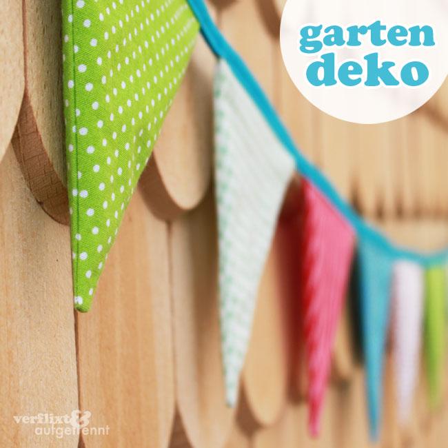 Wimpelkette für den Garten