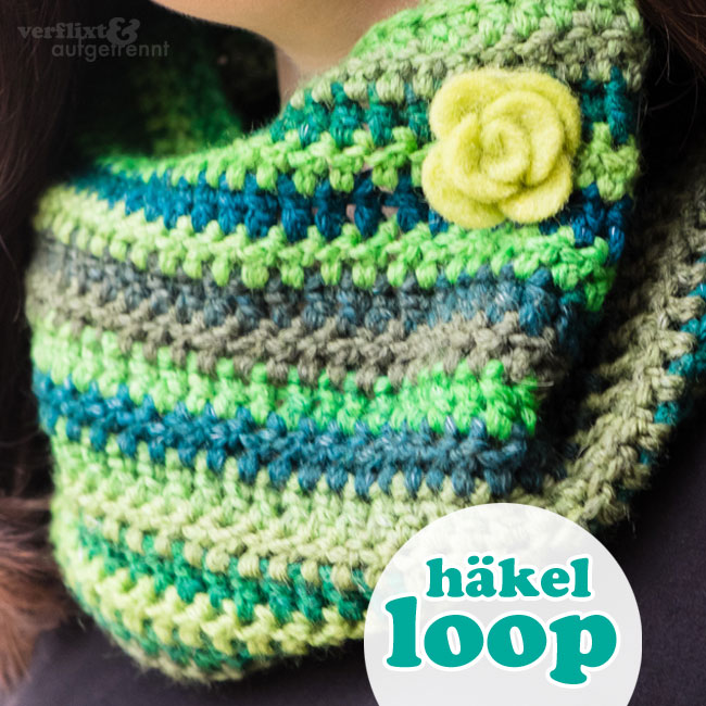 Loop-Schal häkeln