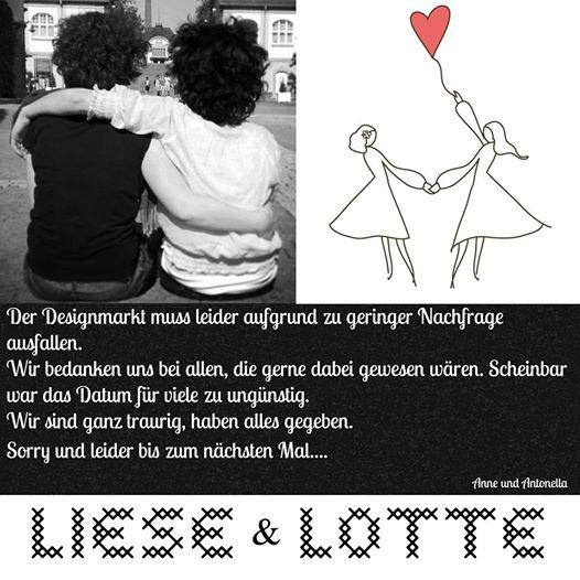Liese und Lotte Markt Absage